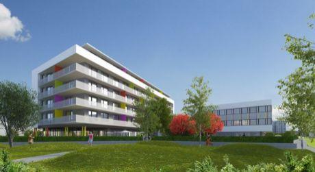 Na prenájom nové byty v Colorhouse 2 s vyhradeným vonkajším parkovacím miestom.