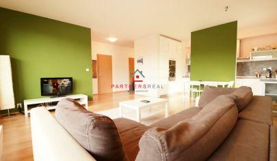 Luxusný 2 izbový byt 65m2 + loggia, v novostavbe,prenájom, Košice-Západ, Obrody