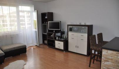 Ponúkame na predaj 1. izbový byt v novostavbe , zariadený na Tomášikovej ulici v Ružinove.