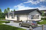 Novostavba 4- izbového rodinného domu vo Veľkých Levároch
