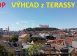 3 izbový PALISÁDY - Staré Mesto - HODŽOVO námestie  !! 100 m2 + TERASA - absolútny VÝHĽAD na Bratislavu !! dobrá cena !!