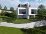 Vo výstavbe! Predaj NOVOSTAVBY 4-izbového MEZONETOVÉHO bytu so záhradou a dvomi parkovacími miestami s krásnym výhľadom na Bratislavu, ul. Popolná, BA III - Rača.