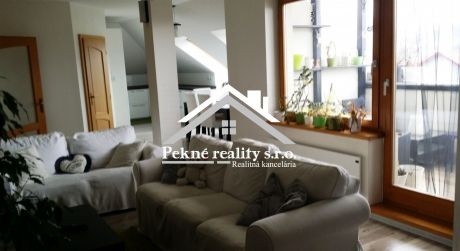 Predaj podkrovného 4 izbového bytu s terasou v Detve