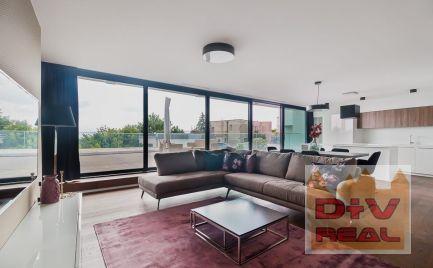 Prenájom: 3 izbový byt, Na štyridsiatku, moderne zariadený, novostavba, veľká terasa, parkovanie