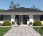 Novostavba 4 izbového bungalovu, 507 m2, holodom, Trenčianske Stankovce