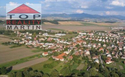Stavebný pozemok 700 m2, IS v Košťany nad Turcom
