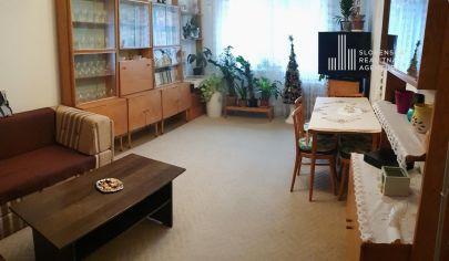 PREDANÉ: Exkluzívne ponúkame na predaj priestranný 2-izbový byt 61m2 na Chlumeckého ulici, v Bratislave-Ružinove
