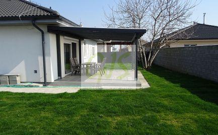 Moderný 4-izb. kompletne vybavený bungalov s plnou vonkajšiou úpravou