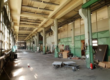 Prenájom výrobných, skladovacích priestorov, 850+150m2, širšie centrum Piešťan