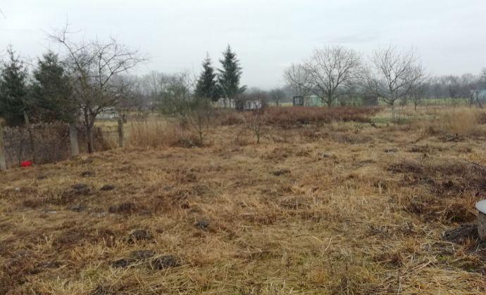 Na predaj stavebný pozemok  v obci Nána, exkluzívne iba u nás.