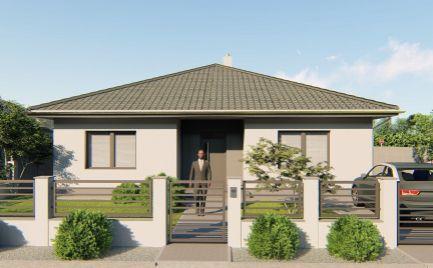 VO VÝSTAVBE – komfortné 4 izb rodinné domy v slepej uličke v obci Michal na Ostrove