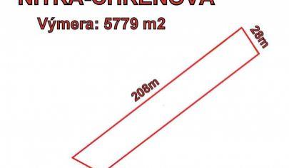 Nitra,investičný pozemok časť Chrenová  5779 m2