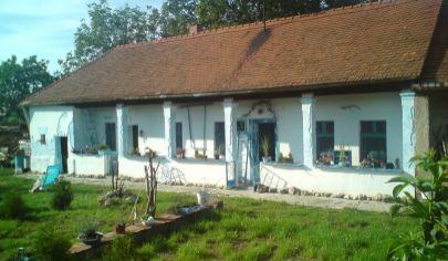 BOŠANY staršie rodinne domy v spoločnom dvore, pozemok 2700 m2 za cenu pozemku