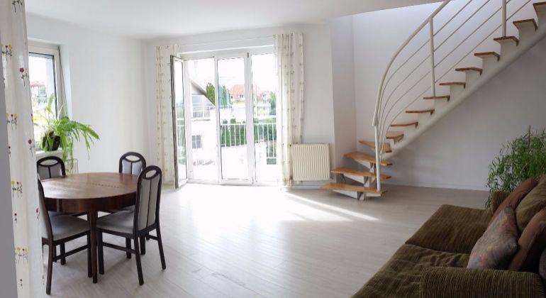 Jedinečný 4izb mezonetový byt s garážou a 3 terasami v Starom meste na Tichej ulici, 190m2, exkluzvívne