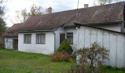 Turany starší rodinný dom aj s pozemkom 573 m2.