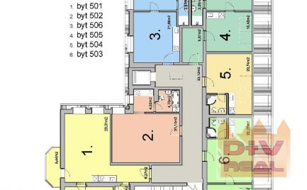 Predaj: 1 izbový byt, Gunduličova ulica, Bratislava I, Staré Mesto, výťah, kompletná rekonštrukcia, v ponuke 1-4 izbové byty od 38,80 - do 102,73 m2