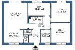 HRUBÁ BORŠA - novostavba - samostatný bungalov - cena vrátane štandardu !!!