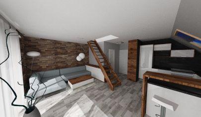 VALČA 3 izbový mezonetový apartmán 52m2 s balkónom, okr. Martin