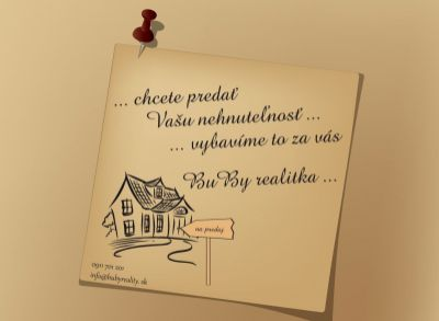 Kúpa 3 izbový byt Žilina Hliny