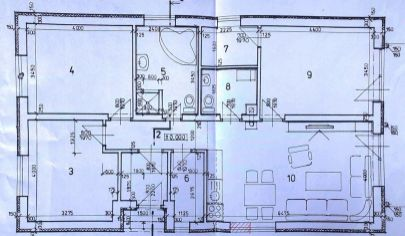 Krušovce - 4-izb.rodinný dom bungalov so sedlovou strechou,novostavba 123 m2 , okr. Topoľčany