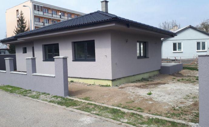 NOVOSTAVBA - bungalov v Dubnici nad Váhom