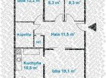 4 izb. byt, ul. H. MELIČKOVEJ, po komplet. rekonštrukcii