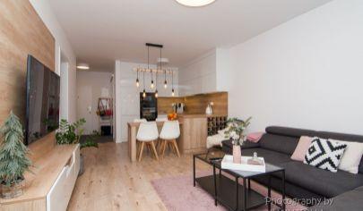 REZERVOVANÉ APEX reality ponúka krásne zariadený 2 izbový byt s terasou v novostavbe ARBÓRIA PARK v Trnave