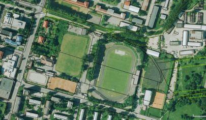 MARTIN športový areál s poz. 57 000m2, širšie centrum