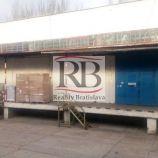 Výrobno-skladový priestor na ulici Mlynské Nivy, 306m2