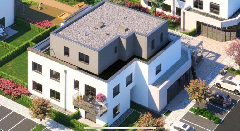 Pozemok so stavebným povolením pre bytovú výstavbu v centre obce Zálesie