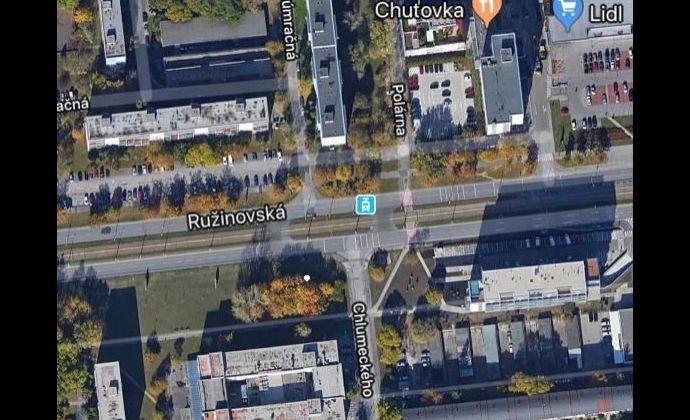 Pozemok o výmere 923 m2 na Ružiovskej ulici