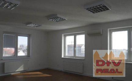 Prenájom: kancelárie (6 kancelárii a príslušenstvo) o výmre 180m2 pri Havnej ceste, smer Rovinka-Šamorín, parkovanie