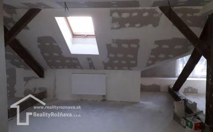Bytový dom s holobytmi v Rožňave