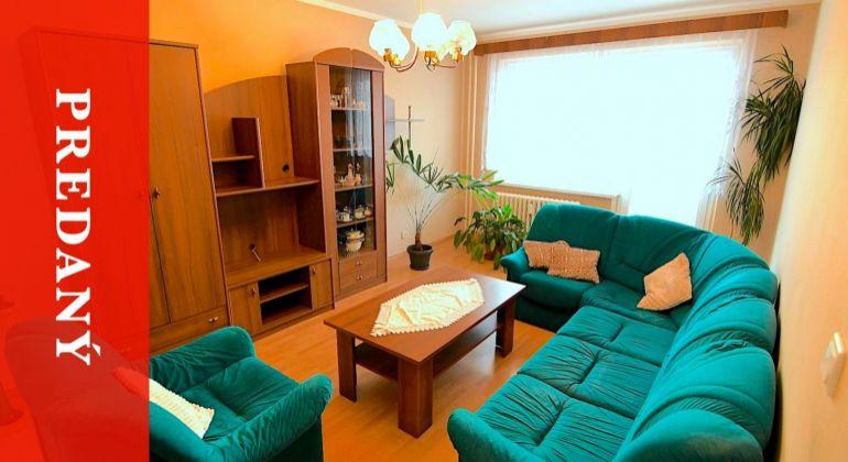 PREDANÝ: Veľký 4i byt po čiastočnej rekonštrukcii - Vlčince - Fatranská - ZA