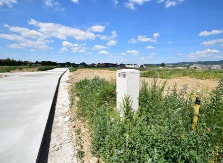 Stavebný pozemok P39/654,91 m2/ Horná Streda