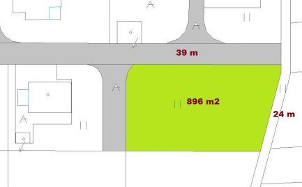 TOP pozemok uprostred prírody 896 m2, LUKAVICA, komplet siete - cena 31 000€