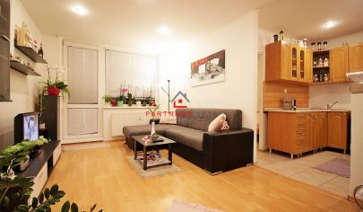 IDEÁLNY, PRAKTICKÝ a SLNEČNÝ 2-izb byt (46m2) s veľkou loggiou / Oštepová ul.