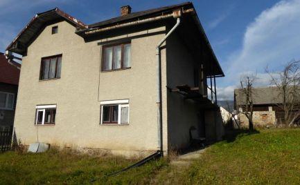 Dom na predaj - slnečný pozemok - Nízke Tatry