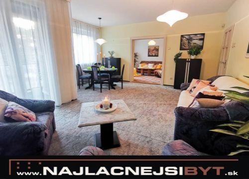Najlacnejsibyt.sk: BAI - Staré Mesto, Slávničie údolie., 4 izbový byt, 106 m2, rekonštruovaný
