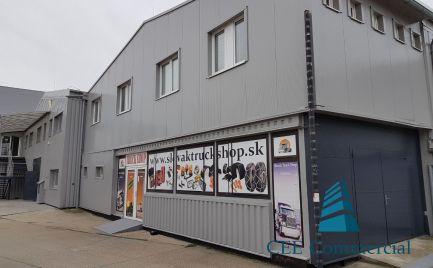 Obchodno-skladový priestor pri diaľnici D1,540 m2