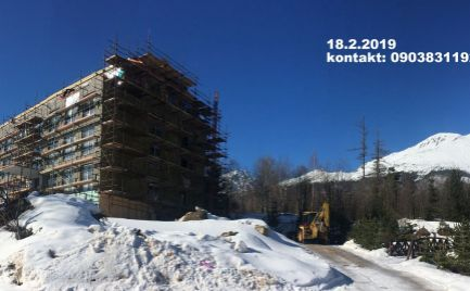 EXKLUZÍVNE: 1-spálňový apartmán s balkónom, Starý Smokovec, Vysoké Tatry