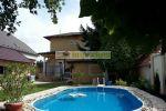 CENA 155.000.- €   Krásny udržiavaný štýlový dom s jazerom aj bazénom v malebnej obci Jahodná pri Alba régii