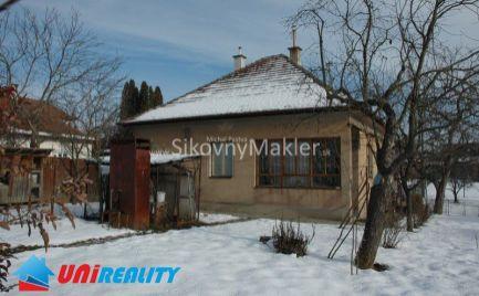 Starši rodinný dom / Dolné Ozorovce / Bánovce nad Bebravou