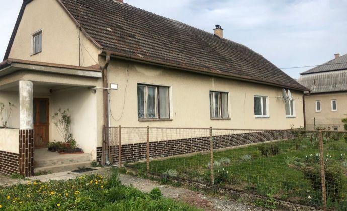 3-izbový rodinný dom, LADCE - Tunežice, pozemok 508 m2, 58.000 EUR!!!!
