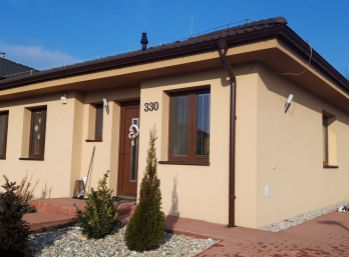 Novostavba 3 izb. bungalovu na 5 ár. pozemku v Jablonci