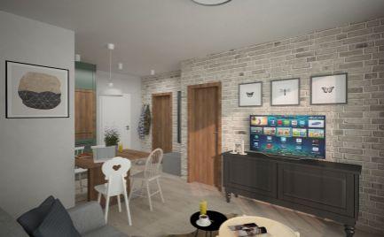 Apartmán B BERNARD  2 izbový + 2 balkóny