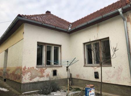 Rodinný dom Solčany/ VYPLATENA ZALOHA