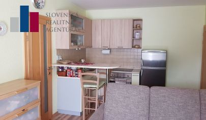 REZERVOVANÉ:  Pekný 1-izbový byt s priestorným balkónom v obci Miloslavov-Alžbetin Dvor