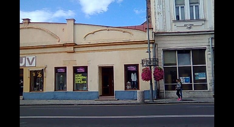 Prenájom obchodného priestoru v Lučenci
