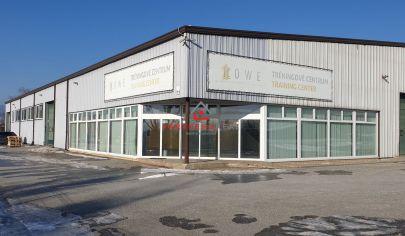 Výrobný - skladový areál na prenájom 2000m2, Magnezitárska ul, Košice
